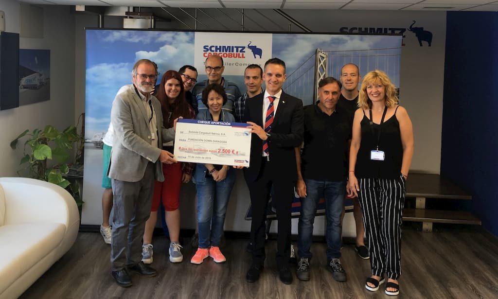 schmitzcargobull dona fundacion down zaragoza